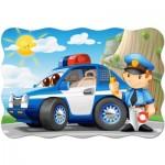 Puzzle Maxi 20 pièces : Patrouille de Police