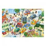Puzzle Maxi 40 pièces : Collision de la route