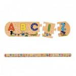 Puzzle 26 pièces en bois : L'alphabet