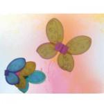 Ailes de fées multicolores