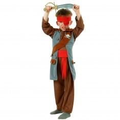 Déguisement 3 en 1 : Indien, Cowboy, Pirate : 8/10 ans