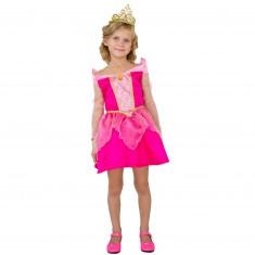Déguisement Princesse Aurore : Robe courte : 8/10 ans