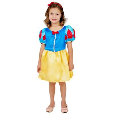 d guisement princesse blanche neige robe courte 3 5 ans jeux et jouets c sar avenue des jeux. Black Bedroom Furniture Sets. Home Design Ideas