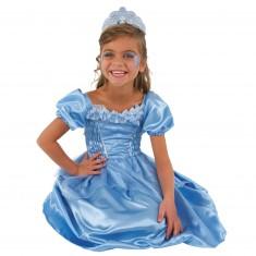 Déguisement Princesse bleue : 3/5 ans