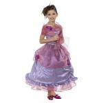 Déguisement Princesse violette (avec étole) : 8/10 ans