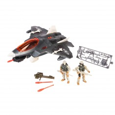 Avion Soldier Force VIII et figurines : Sky Combat