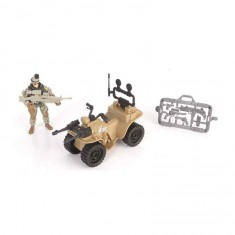 Figurine Soldier Force Série VIII et son quad