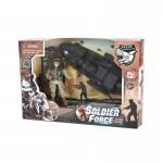 Figurine Soldier Force Série VIII et son scooter des mers