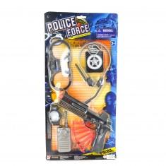 Kit de policier : Accessoires Police Force