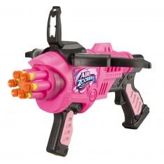 Pistolet Air Zoomer et 6 fléchettes