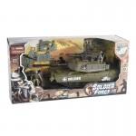 Véhicule de patrouille Soldier Force VIII et figurines : Char d'assaut 39 cm