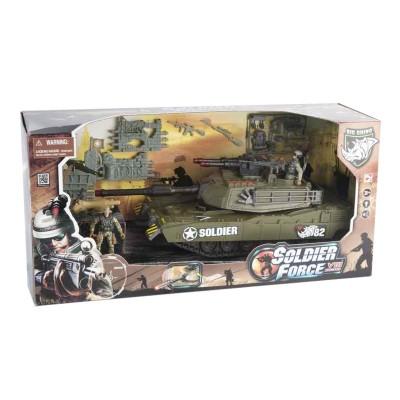 Véhicule de patrouille Soldier Force VIII et figurines : Char d'assaut 39 cm - ChapMei-521013