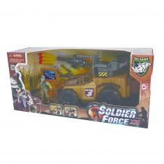 Véhicule et personnage militaire Soldier Force VIII