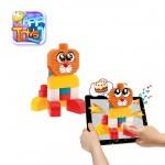 Blocs de construction App Toys : 15 pièces : Chien et Chat