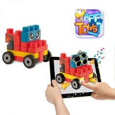 Blocs de construction App Toys : 20 pièces : Véhicules