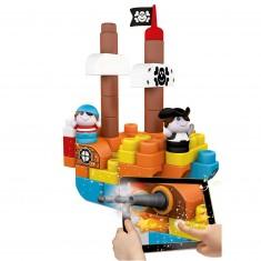 Blocs de construction App Toys : 60 pièces : Ile aux trésors