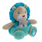 Peluche Soft Cuddles : Lion bleu