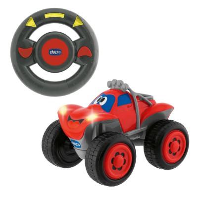 voiture radiocommand e billy bigwheels rouge jeux et jouets chicco avenue des jeux. Black Bedroom Furniture Sets. Home Design Ideas