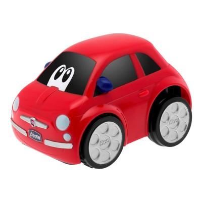 voiture turbo touch fiat 500 rouge jeux et jouets chicco avenue des jeux. Black Bedroom Furniture Sets. Home Design Ideas