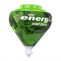 Toupie Energia Short Circuit vert