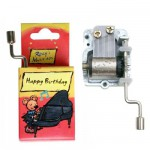 Boîte à musique Rizzy : Happy Birthday