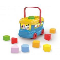 Boîte à formes Le bus des formes de Mickey