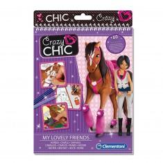 Cahier à dessins chevaux et poneys