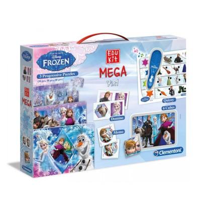 Coffret Edukit Mega 7 en 1 : La Reine des Neiges (Frozen) - Clementoni-13928