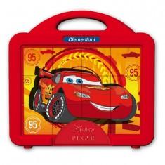 Puzzle 12 cubes : Cars Que la course commence !
