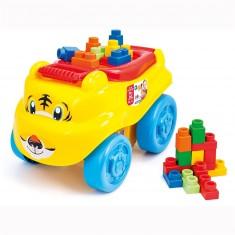 Cubes Clemmy plus : Traineau Tigre