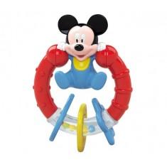 Hochet anneau de dentition : Mickey