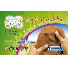 Kit créatif Crée avec l'argile Créations avec la nature : Recharge d'argile