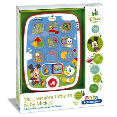 Ma première tablette Baby Mickey - Clementoni-62496