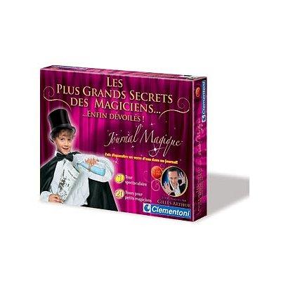 Magie : Les plus grands secrets des magiciens : Le journal magique Clementoni