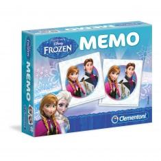 Mémo La Reine des Neiges - Frozen