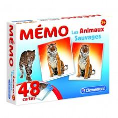 Mémo Pocket Les animaux sauvages