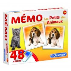 Mémo Pocket Les Petits des Animaux