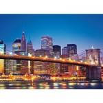 Puzzle 1000 pièces - New York : Le pont de Brooklyn