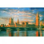 Puzzle 1000 pièces : Big Ben et le Parlement, Londres
