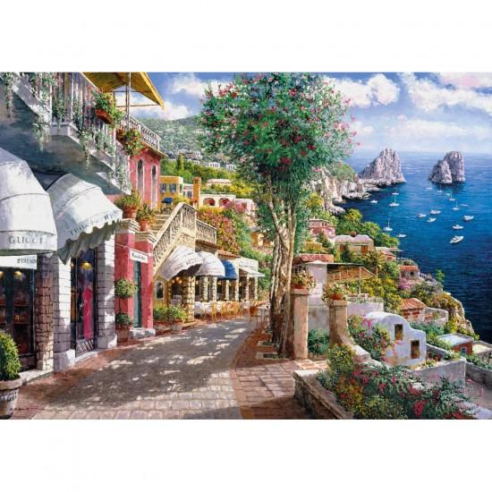 Puzzle 1000 pièces : Capri, Italie - Clementoni-39257