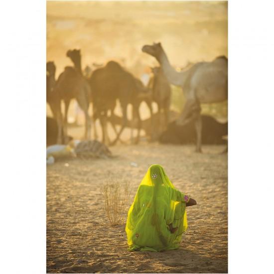 Puzzle 1000 pièces : Femme indienne - Clementoni-39302