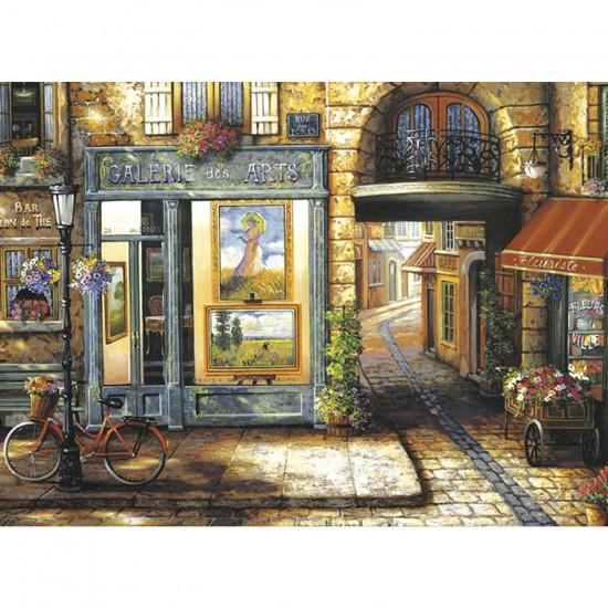 Puzzle 1000 pièces : Galerie des arts - Clementoni-39229