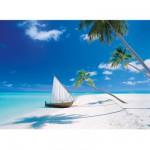 Puzzle 1000 pièces : Îles Maldives