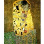 Puzzle 1000 pièces : Klimt : Le Baiser (1908-1909)