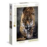 Puzzle 1000 pièces : La marche du jaguar