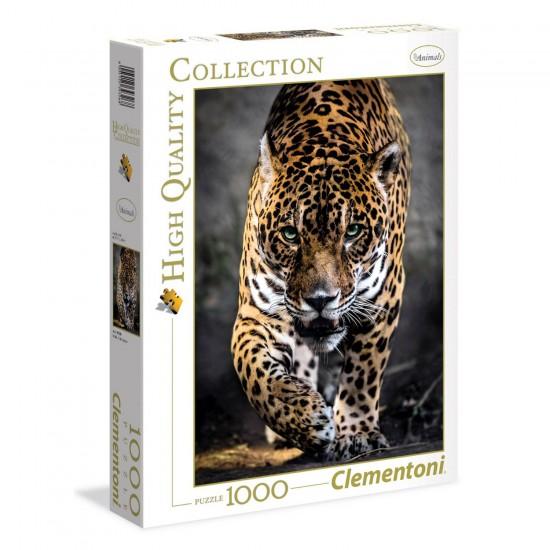 Puzzle 1000 pièces : La marche du jaguar - Clementoni-39326