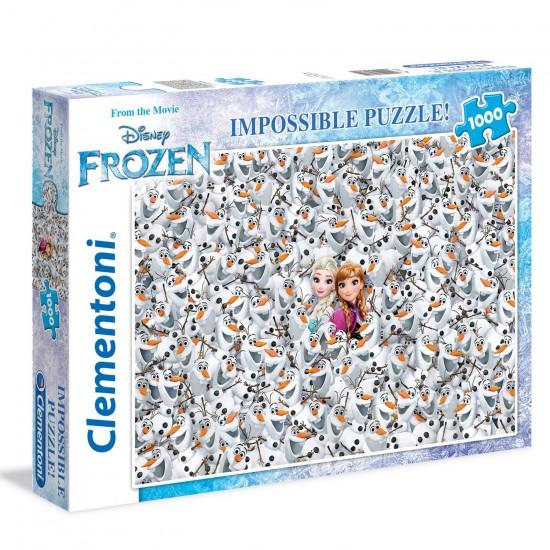 Puzzle 1000 pièces : La Reine des Neiges - Clementoni-39360