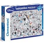 Puzzle 1000 pièces : Les 101 Dalmatiens