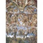 Puzzle 1000 pièces : Michel Ange : Le jour du jugement dernier