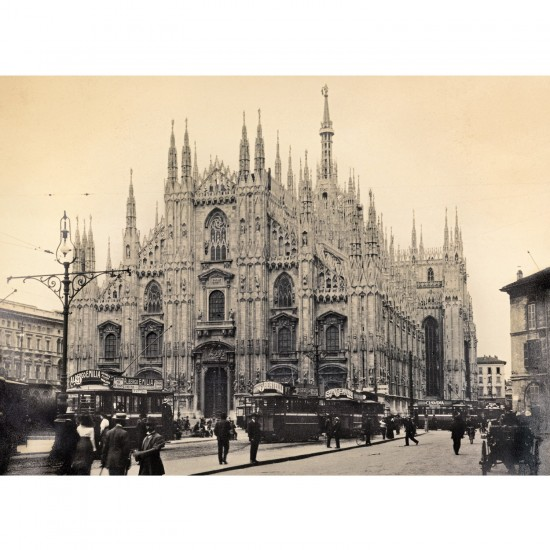 Puzzle 1000 pièces : Milan 1910-1915 - Clementoni-39292